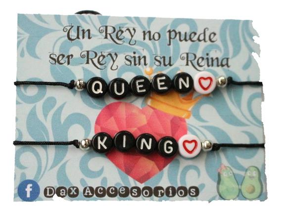 Pulsera De Moda - King & Queen