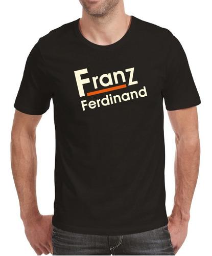 Playera Franz Ferdinand Hombre O Mujer