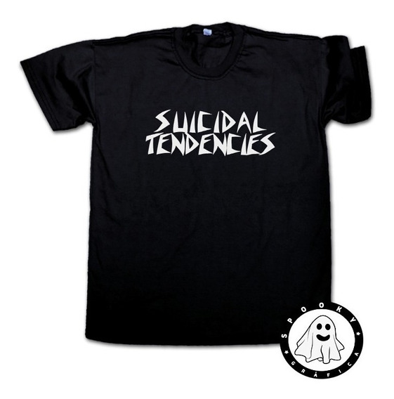 Remera Suicidal Tendencies Varios Colores Thrash Metal, Punk