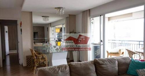 Apartamento Com 3 Dormitórios Para Alugar, 110 M² Por R$ 7.800/mês - Ipiranga - São Paulo/sp - Ap13143