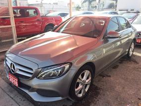 Mercedes-benz Clase C 2.0t C200 Cgi Exclusive 2016 Credito