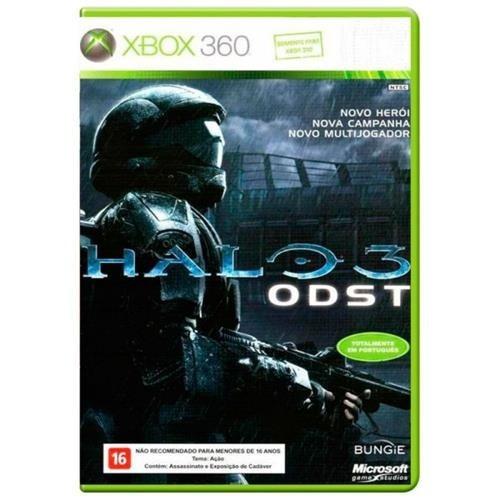 Game Xbox 360 Halo 3 Odst Usado Excelente