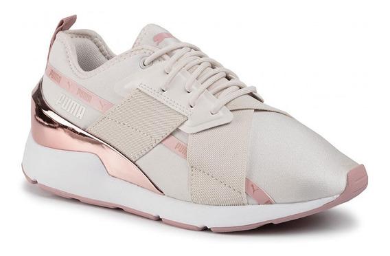 Zapatillas Puma Muse X-2 Metallic Para Mujer Nuevo
