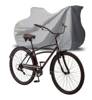 Capa Bicicleta Bike Forrada Elástico Impermeável Até Aro 29