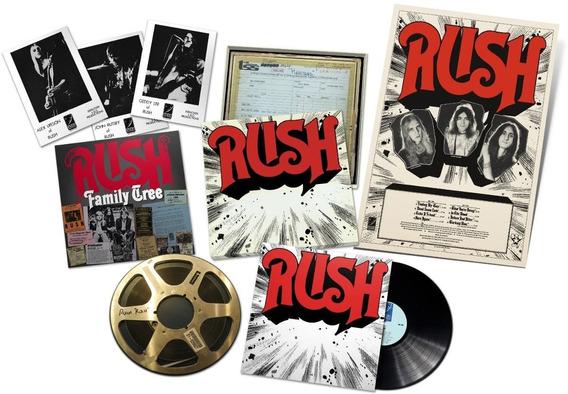Rush - 1974 Remastered Vinyl [200gram Lp] Rediscovered