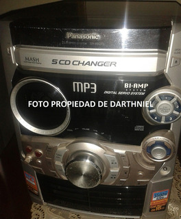 Equipo De Sonido Panasonic Sc-ak521