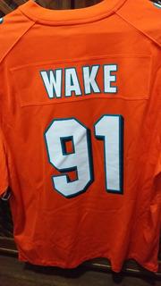 Camisa De Futebol Americano Miami Dolphins Cameron Wake