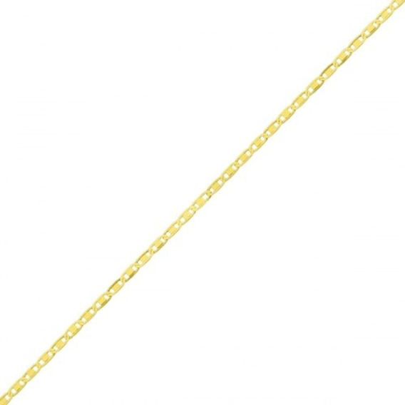 Tornozeleira De Ouro 18k Piastrine Com 26cm To00215