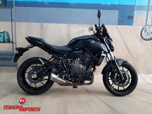 Yamaha Mt 07 Abs 2021 Preta