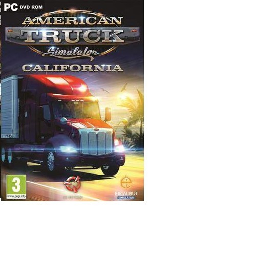 American Truck Simulator California-pc-dvd(midia Fisica)
