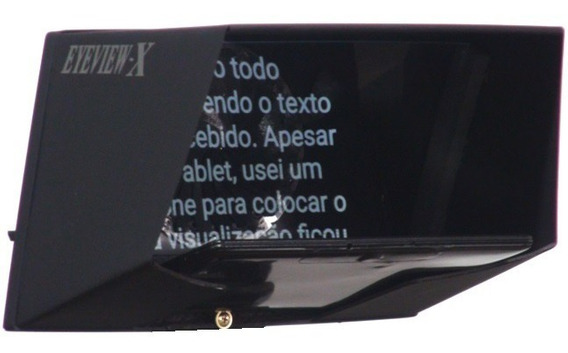 Eyeview-x Teleprompter O Top