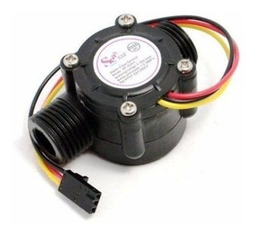 Sensor Hall Medidor Fluxo Água 1/2 1-30l 2mpa Yfs201 Arduino