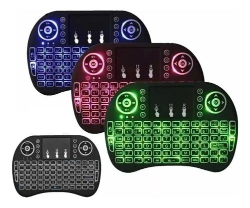 Mini Teclado Inalambrico Con Mouse Touchpad/b285