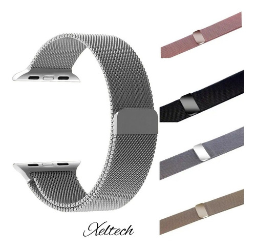 Pulso Para Apple Watch Acero Metálico 38/40 Mm