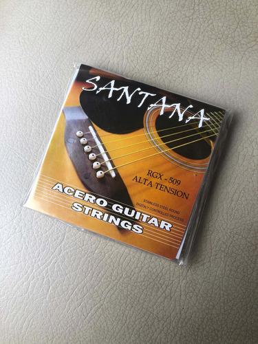 Encordado Para Guitarra Electro Acústica Metalicas 6 Cuerdas