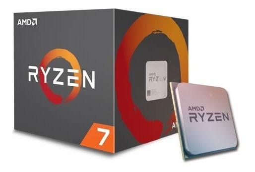 Procesador Amd Ryzen 7 1700x 1700x-yd170xbaewof Am4 Ticotek