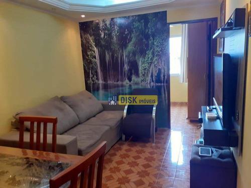 Apartamento Com 1 Dormitório À Venda, 52 M² Por R$ 200.000,00 - Jardim Lavínia - São Bernardo Do Campo/sp - Ap2226