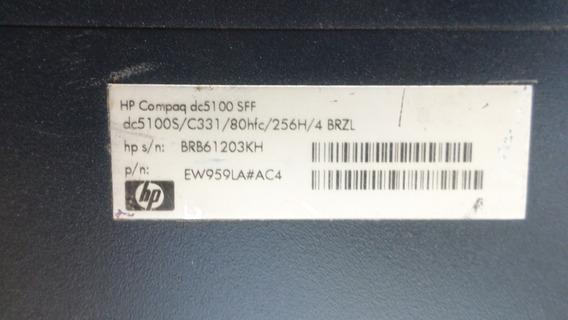 Cpu Hp Compaq Dc5100sff