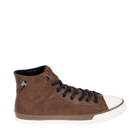 Tenis Casual Tipo Bota Goodyear Y02g Id 826007 Cafe Hombre