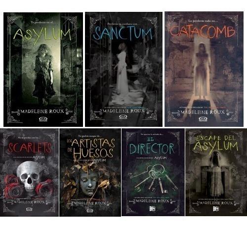 Trilogía Asylum + Novelas + Precuelas (7 Libros) - Roux