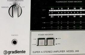 Esquema Elétrico Amplificador Gradiente M246 E/g/u/a/mex +