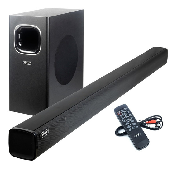 Soundbar 2.1 Subwoofer Hdmi Arc Bt Usb Aux Óptica Knup