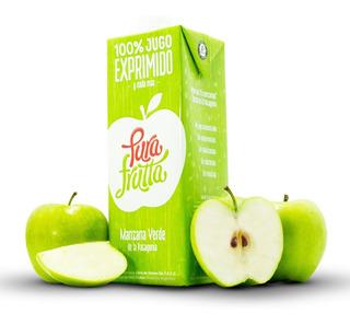 Jugo 100% Exprimido X 1 Ltr Pura Frutta 6 U. Manzana/naranja