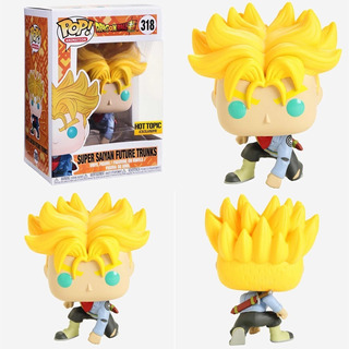 Funko Pop! Dragon Ball Z Super Saiyan Trunks Hot Topic