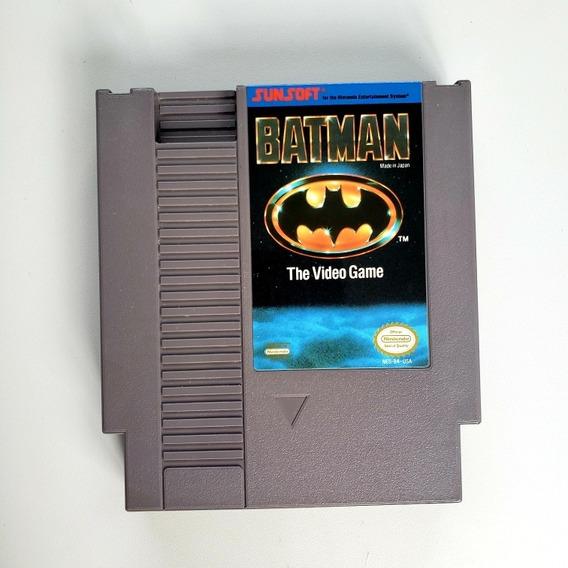 Batman The Vídeo Game Original Nes Nintendinho