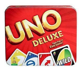 Mattel Games Uno Card Game Tin Juego De Cartas Uno Estaño