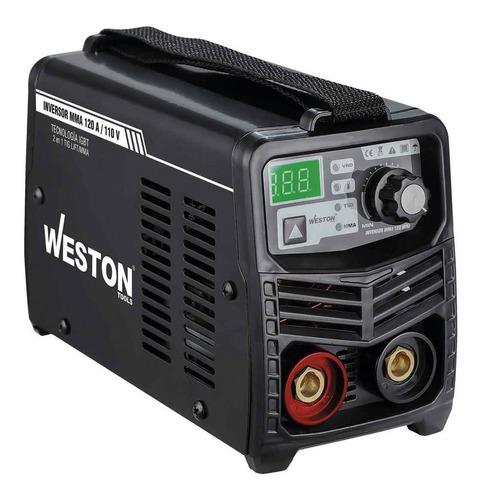 Imagen 1 de 3 de Soldadora inverter Weston Tools El Mini Z-67020 127V