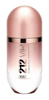 Perfume 212 Vip Rose Edp 125ml Original + Brinde Amostra