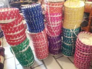 Paquete De 200 Tortilleros Sin Tapa De Medio Kilo De Colores