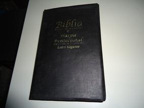 Livro: Bíblia Sagrada E Harpa Petencostal (letra Gigante)