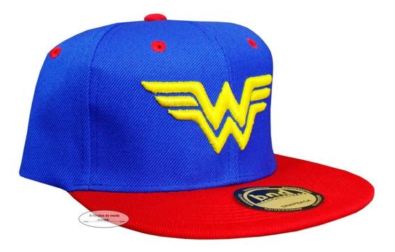 Dc Comis 1 Gorra Mujer Wonder Woman Mujer Maravilla