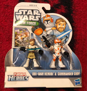 Star Wars Jedi Force (obi-wan Kenobi Y Commander Cody)