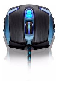 Mouse Gamer Warrior 4000 Dpi Multilaser - Mo252 + Mousepad