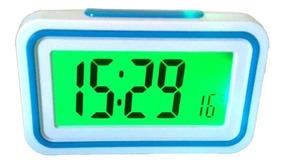 Relógio Digital Despertador De Mesa Fala A Hora Em Voz