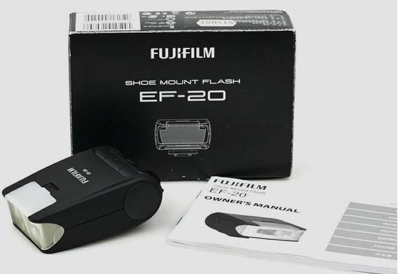 Flash Ttl Fujifilm Ef-20 Perfeito - Quase .sem Uso .na Caixa