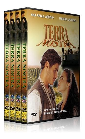 Bluray Novela Terra Nostra Completa Lindo Box!
