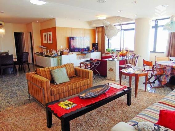 Apartamento Com 4 Quartos À Venda, 314,00m², 4 Vagas, 1 Por Andar - Aldeota - Fortaleza/ce - Ap1146
