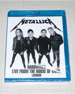 Blu-ray Metallica - Hardwired Live House Of Vans Lacrado