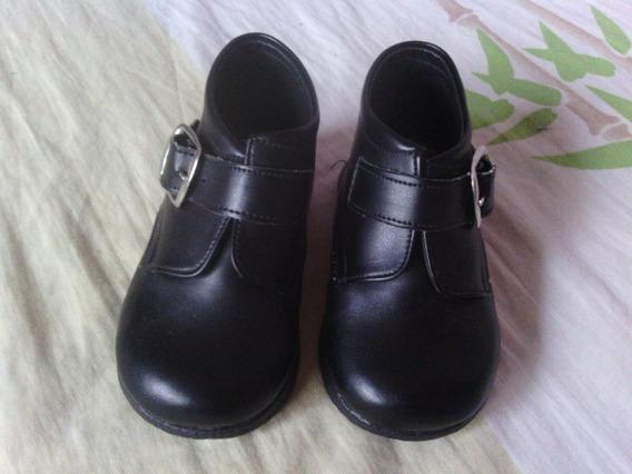 Zapatos De Vestir De Varón Niño Como Nuevos Bautizo Fiesta