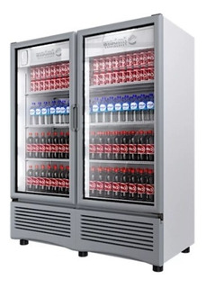 Refrigerador Comercial 2 Puertas Imbera Vr-35 Rbanda