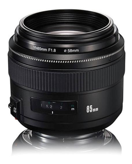 Lente Yongnuo Yn 85mm F/1.8 Para Canon Ef
