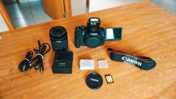 Canon T5i + Lente 18-55mm + Cartão 16gb A Vista 1850