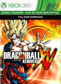 Dragon Ball Xenoverse Xbox 360 Transferencia Licença Pt-br