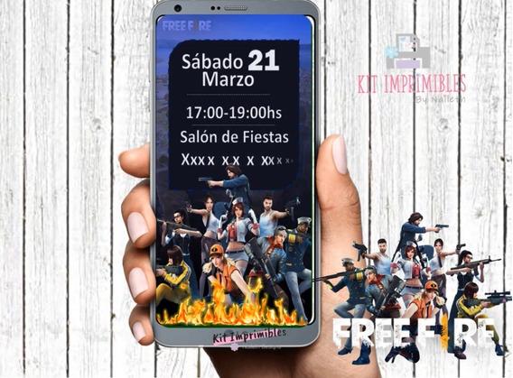 Video Invitación Free Fire
