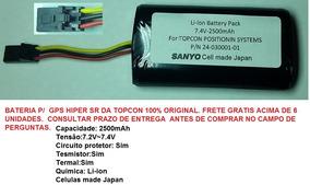 Bateria Gps Hiper Topcon Sr Original Confira