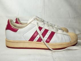 Tenis Vintage adidas Superstars Gliter Rosa Original Tam 39